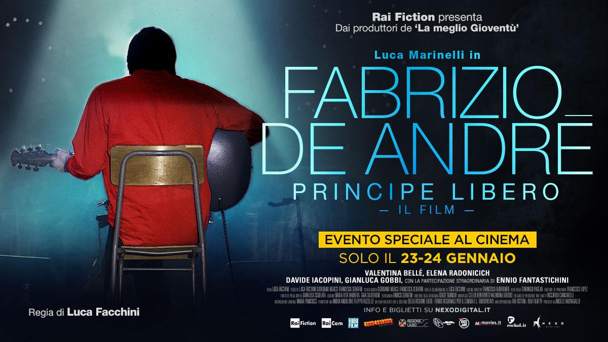 Luca Marinelli interpreta De André, ecco il trailer del film