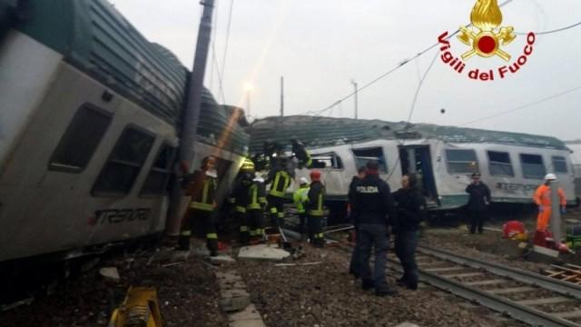 Pioltello treno deragliato scoppia rabbia social l - Treno milano porta garibaldi bergamo ...